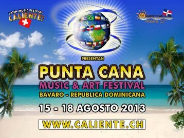 Punta Cana Music & Art Festival - Caliente