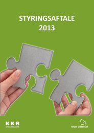 STYRINGSAFTALE 2013 - Faaborg-Midtfyn kommune
