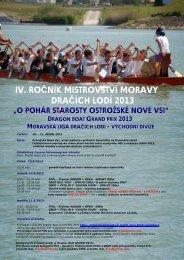 Propozice_Mistrovstvi_Moravy_2013.pdf - Česká asociace dračích ...