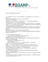 Avis n°13-45249 publié le 18/03/2013 - Tarascon