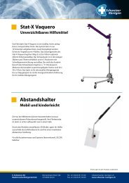 Stat-X Vaquero Unverzichtbares Hilfsmittel - E. Schweizer AG ...