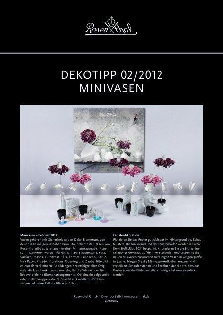 Download Decoration Tip (1,2 MB) - Rosenthal