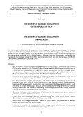 memorandum of understanding between the ministry of economic ... - Page 2