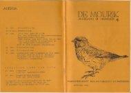 1985 nummer 4 - Vogelwerkgroep Nijmegen