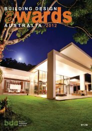 design excellence award 2012 - Building Designers Association of ...