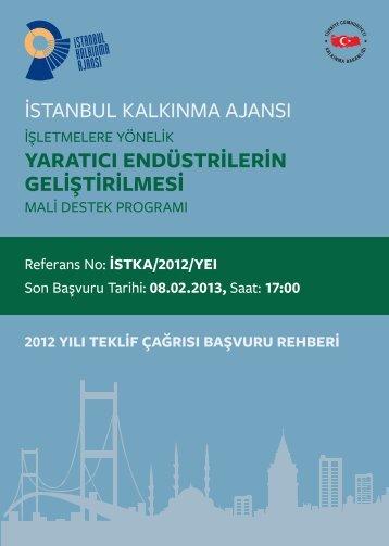 2012 Yılı Teklif Çağrısı Başvuru Rehberi - Arkitera