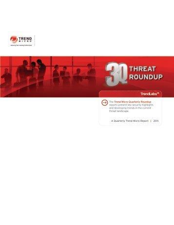 THREAT ROUNDUP - Trend Micro