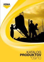 Katalog produktov 09/10 - Kema.si