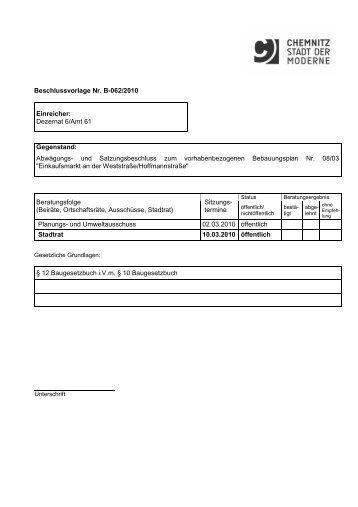 einmal anschauen wie die Beschlussvorlage - Kassberg24.de