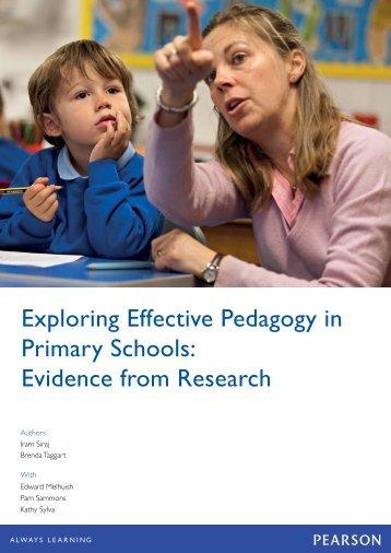 Exploring Effective Pedagogy in Primary Schools