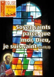 Soyez saints parce que moi, Dieu, je suis saint (Lv19,2) - Diocèse d ...