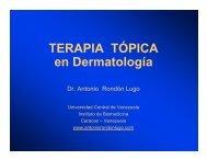 Terapia tópica clase.pdf - Antonio Rondón Lugo