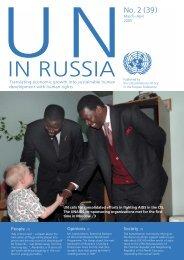 March-April - UN Russia