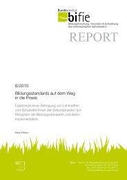 BIFIE-Report 6/2010 - Leadership Academy