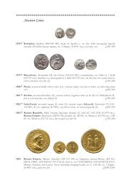 Ancient Coins - St James's Auctions