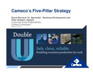 Cameco's Five-Pillar Strategy