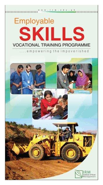 Employable skills-Vocational Training Programme - IRM