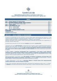 Regolamento - Aci Automobile Club Modena