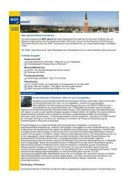 WSP aktuell, Ausgabe Mai 2009 - Wirtschaft und Stadtmarketing ...