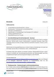 Klienteninfo Oktober 2013 - Fuchshuber Steuerberatung GmbH