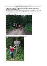 Report 1 Boller Königs-Berglauf am 31 07 2011