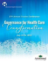 download the conference brochure - Minnesota Hospital Association