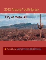City of Mesa, AZ - Arizona Criminal Justice Commission