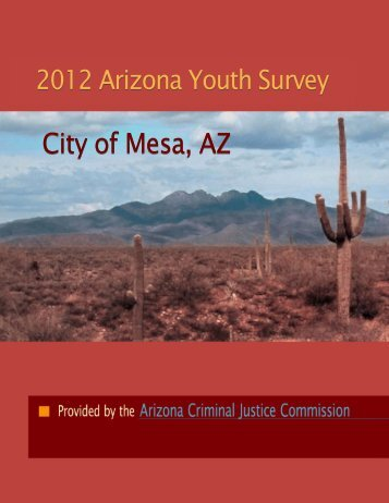 City of Mesa, AZ - Arizona Criminal Justice Commission