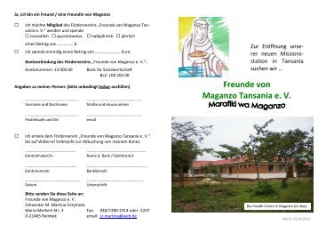 Flyer Maganzo.pdf - Schwestern von der hl. Elisabeth