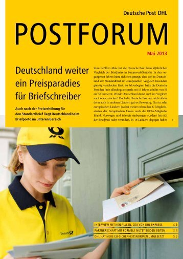 Mai 2013 - Deutsche Post DHL