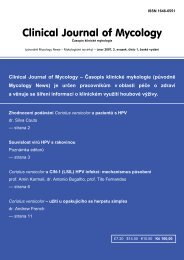 Clinical Journal of Mycology - Mycology Research Laboratories