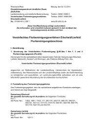 Vereinfachtes Flurbereinigungsverfahren Eilscheid ... - DLR Eifel