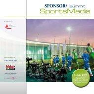 Download Programmankündigung - SPONSORs Sports Media Summit