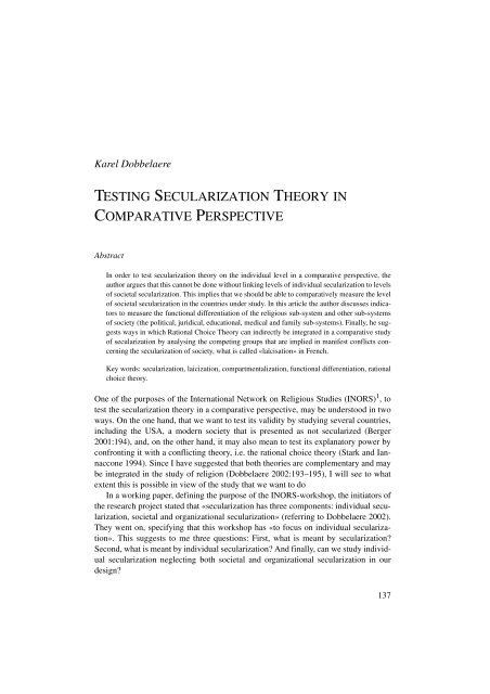 Revised secularization thesis professional critical thinking editor site usa