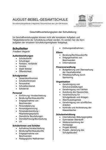 Stufenleiter 5/6 - August-Bebel-Gesamtschule
