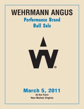 Performance Brand Bull Sale - Angus Journal