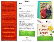 summer day camp brochure - YMCA of Regina