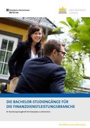 Die Bachelor-stuDiengänge für Die ... - Master-Vergleich