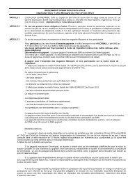REGLEMENT trade Euro 1 Monoprix 2012