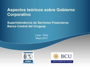 PowerPoint template - Superintendencia de Banca y Seguros