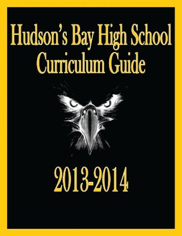 Curriculum Guide 2013-14 - Hudson's Bay High School - Vancouver ...