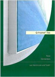 Q-Frame - der intelligente Spannrahmen - Druckstore
