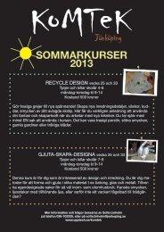 SOMMARKURSER 2013 - Skola.jonkoping.se - Jönköpings kommun