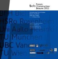 Forum |Construction Beaune 2011 - proHolz