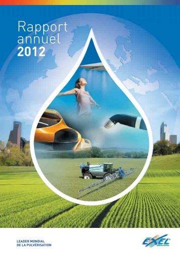 Rapport Annuel et Document de Référence 2012 - EXEL Industries