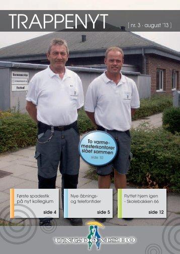 Beboerbladet Trappenyt - Boligforeningen Ungdomsbo