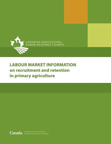 LABOUR MARKET INFORMATION on recruitment and retention in ...