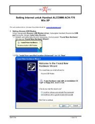Alcomm ACH-770 for Windows XP - Indosat
