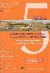 PATRIMONIO ARQUEOLO EN LA COMUNIDAD DE MA - Museo ...