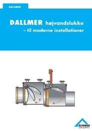 DALLMER højvandslukke - Glynwed A/S